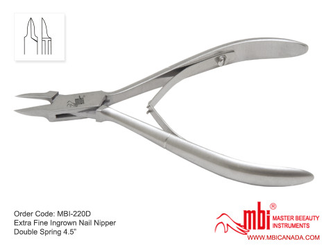 MBI-220D-Extra-Fine-Ingrown-Nail-Nipper-Double-Spring-4.5