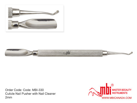 MBI-330-Cuticle-Nail-Pusher-with-Nail-Cleaner-2mm