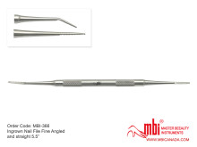 MBI-366-Ingrown-Nail-File-Fine-Angled-and-straight-5.5