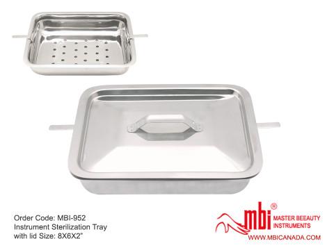 MBI-952-Instrument-Sterilization-Tray-with-lid-Size-8X6X2