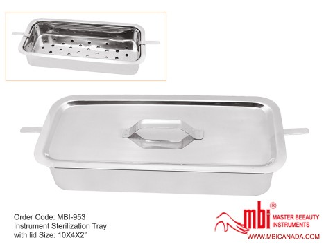 MBI-953-Instrument-Sterilization-Tray-with-lid-Size-10X4X2